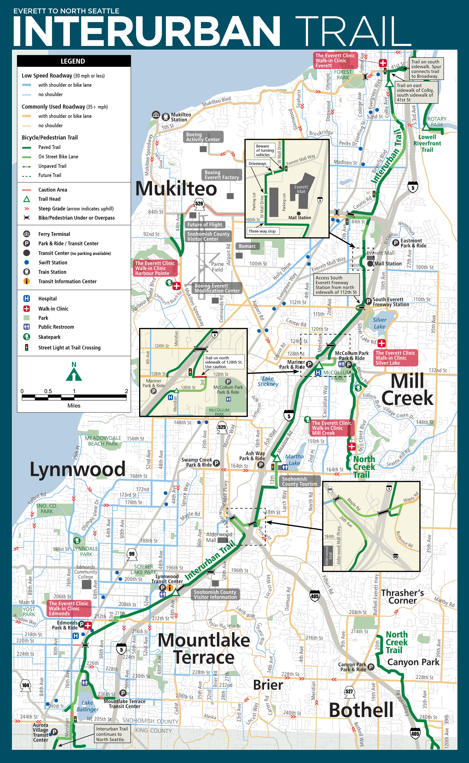 Options for Getting Around Bothell WA