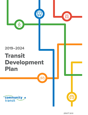 Cover image of Draft 2014-2024 Transit Development Plan