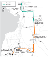 New Routes 109 and 209