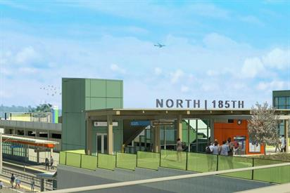 North Shoreline Rendering Courtesy Sound Transit