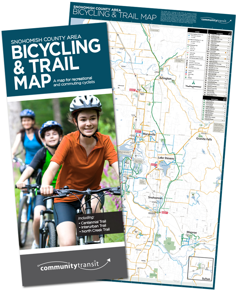 Bicycling & Trail Map Cover