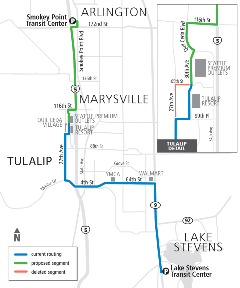 Proposed Route 209 Map