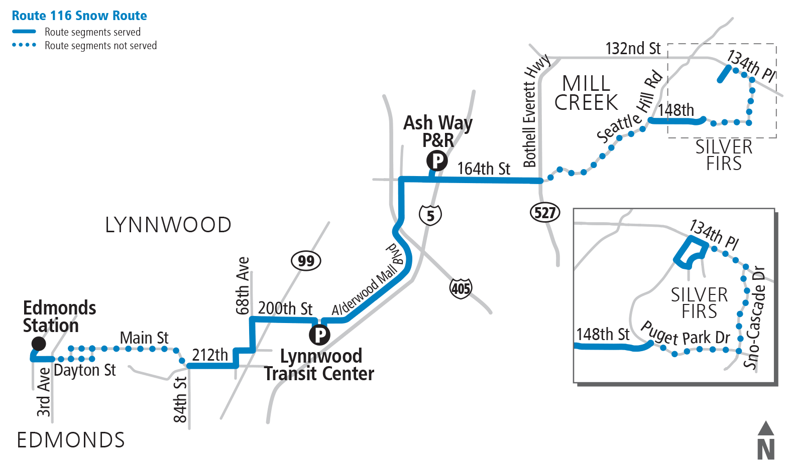 Snow Routes - Bus Schedules & Routes | Community Transit