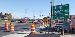 New traffic signals coming soon on eastbound 128th St. SW.