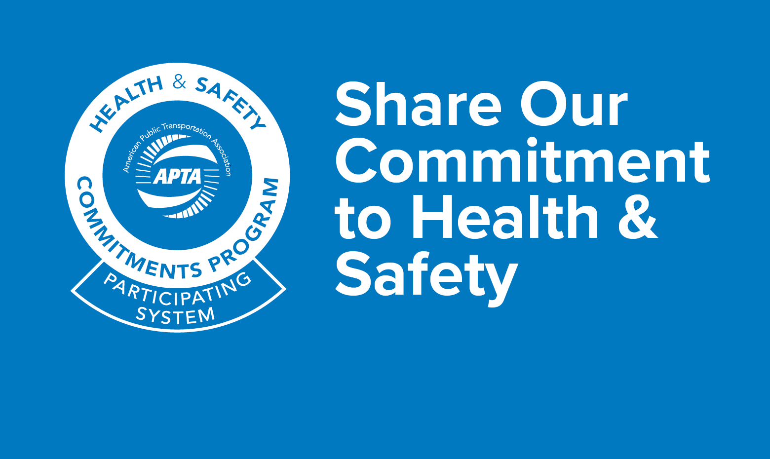 We are committed to health and safety