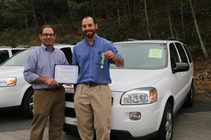 Glacier Peak Initiative from Darrington was awarded a van in 2017.