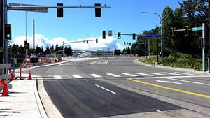 Traffic Signals Completed at Seaway