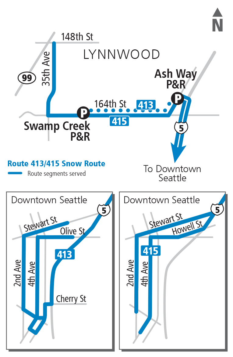 Swamp Creek Park & Ride to Seattle