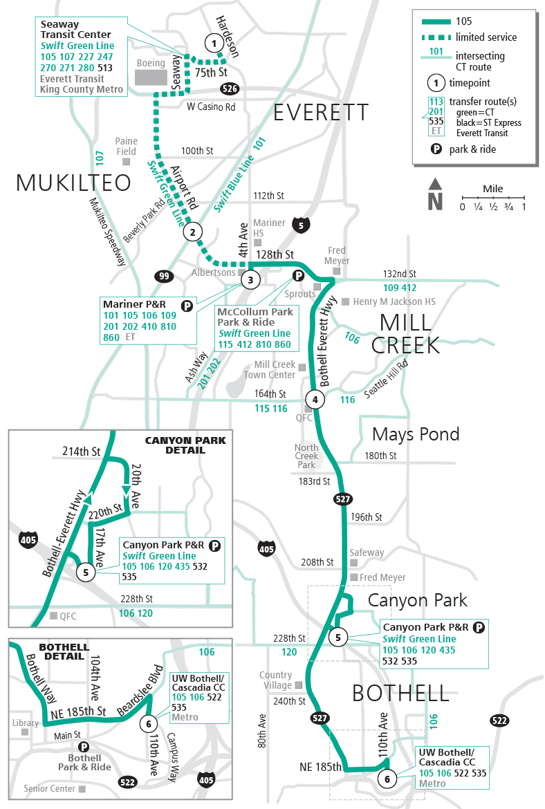 Bus Schedules & Route Maps | Community Transit