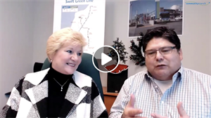 June and Martin talk about the Swift Green line on the Dec 18 2018 webcast of Community Transit LIVE