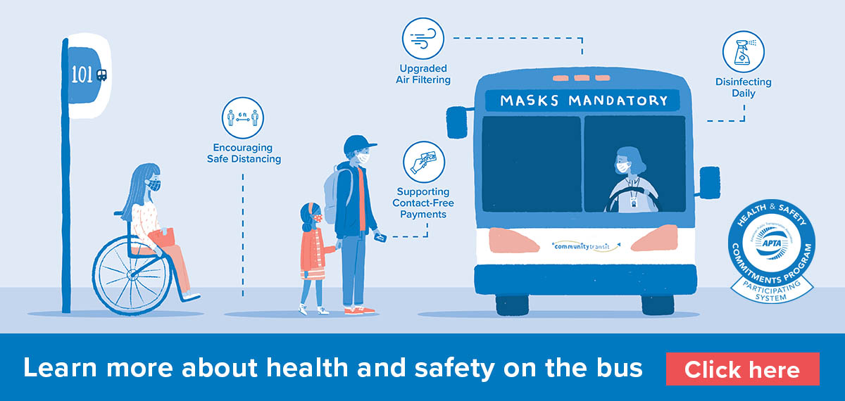 Click here to learn more about health and safety on the bus