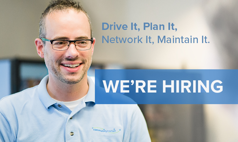 Hiring at Community Transit