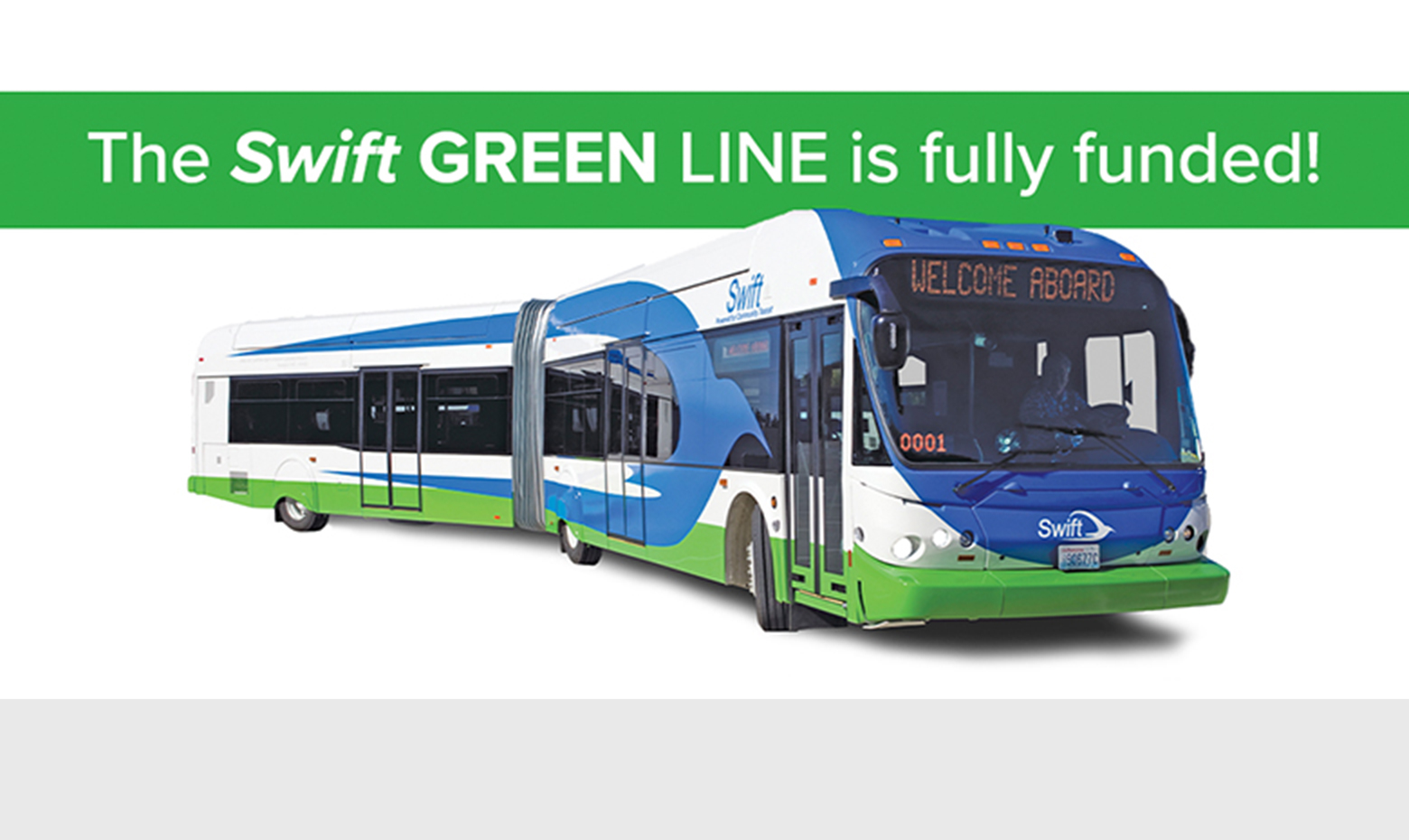 Swift Green Line Funded