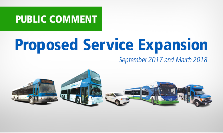 Proposed Service Expansion