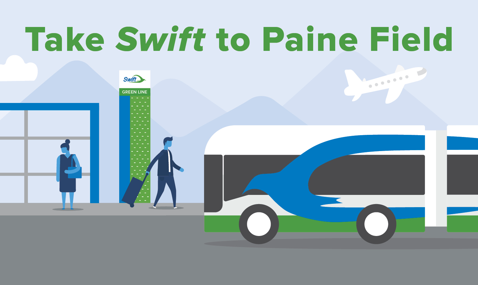 Take Swift to Paine Field Airport