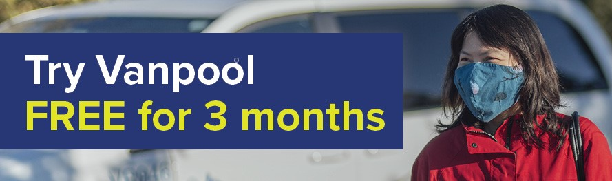 Try Vanpool Free for 3 months